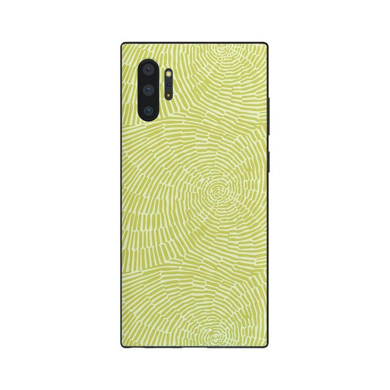 Swirl Away | Tea Green Geometric Case iPhone Case get.casely Classic Galaxy Note 10 Plus