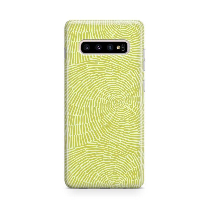 Swirl Away | Tea Green Geometric Case iPhone Case get.casely Classic Galaxy S10