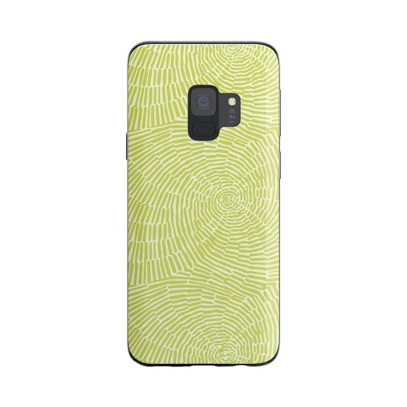 Swirl Away | Tea Green Geometric Case iPhone Case get.casely Classic Galaxy S9