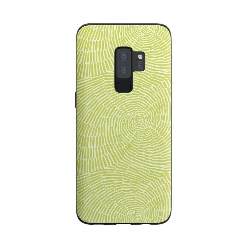 Swirl Away | Tea Green Geometric Case iPhone Case get.casely Classic Galaxy S9 Plus