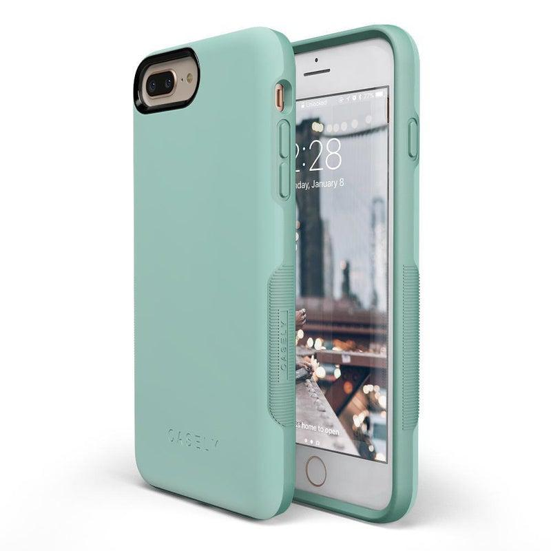 The Bold Collection - Aqua Mint on Aqua Mint iPhone Case get.casely