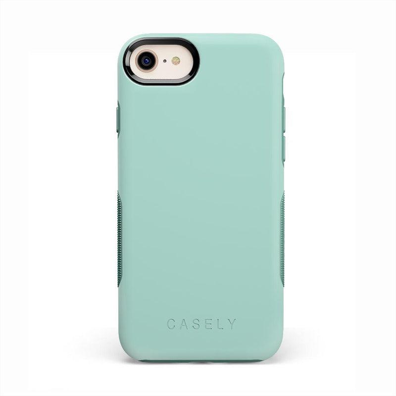 The Bold Collection - Aqua Mint on Aqua Mint iPhone Case get.casely Bold iPhone 6/6s