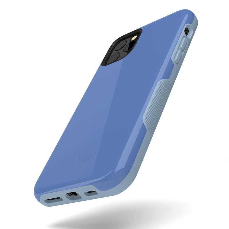 The Bold Collection - Ash Blue on Light Blue iPhone Case get.casely