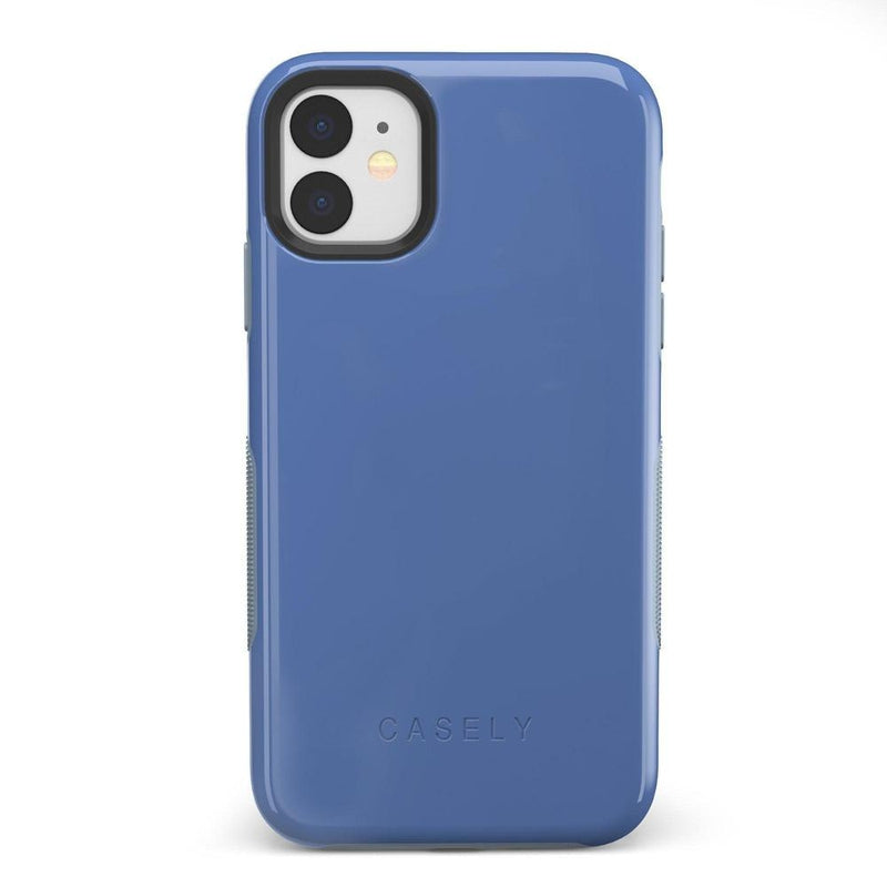 The Bold Collection - Ash Blue on Light Blue iPhone Case get.casely Bold iPhone 11