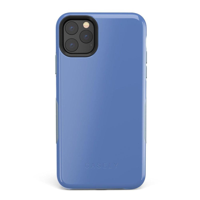 The Bold Collection - Ash Blue on Light Blue iPhone Case get.casely Bold iPhone 11 Pro