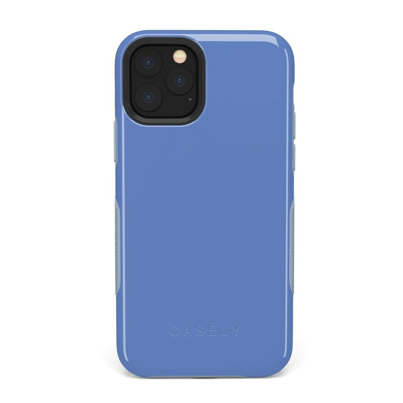 The Bold Collection - Ash Blue on Light Blue iPhone Case get.casely Bold iPhone 11 Pro Max