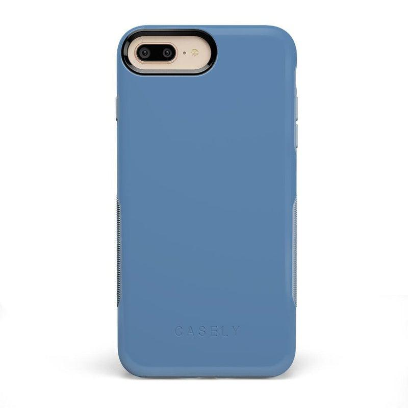The Bold Collection - Ash Blue on Light Blue iPhone Case get.casely Bold iPhone 6/6s Plus