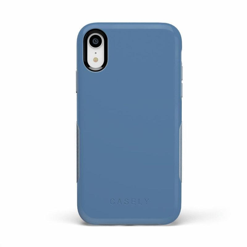 The Bold Collection - Ash Blue on Light Blue iPhone Case get.casely Bold iPhone XR
