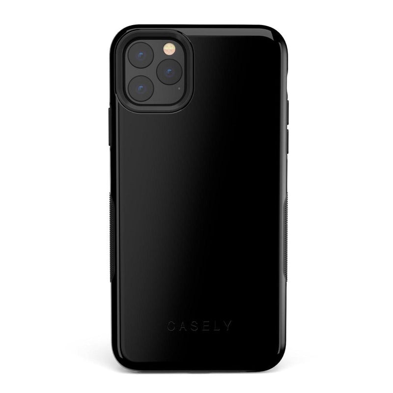 The Bold Collection - Black on Black iPhone Case get.casely Bold iPhone 11 Pro