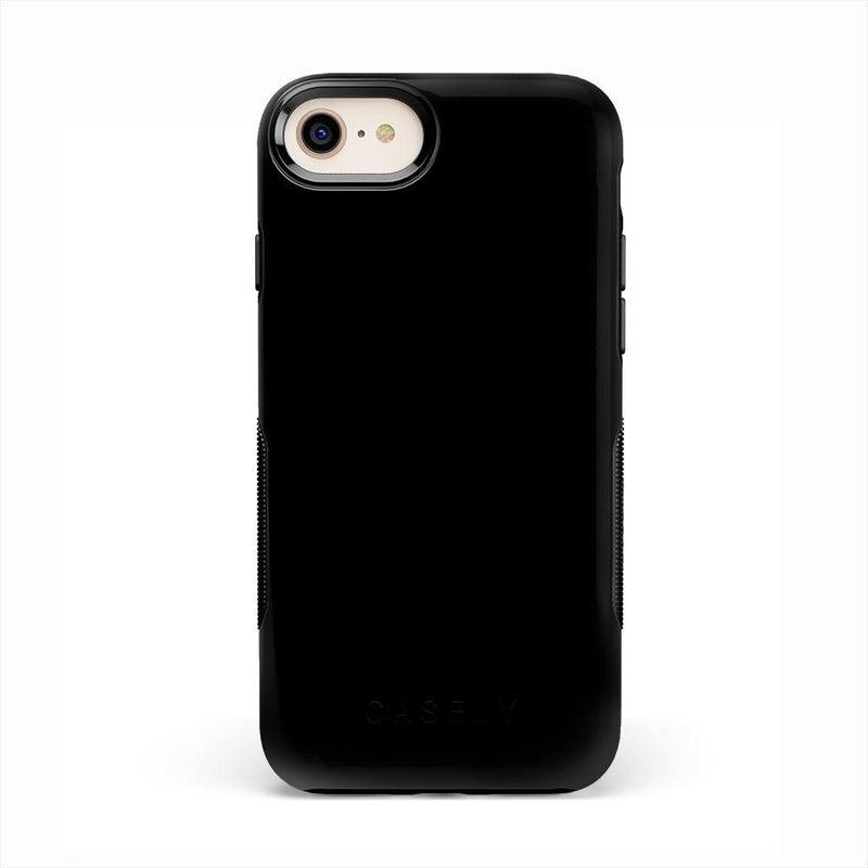 The Bold Collection - Black on Black iPhone Case get.casely Bold iPhone 6/6s