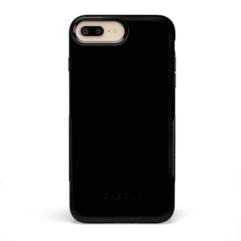 The Bold Collection - Black on Black iPhone Case get.casely Bold iPhone 6/6s Plus