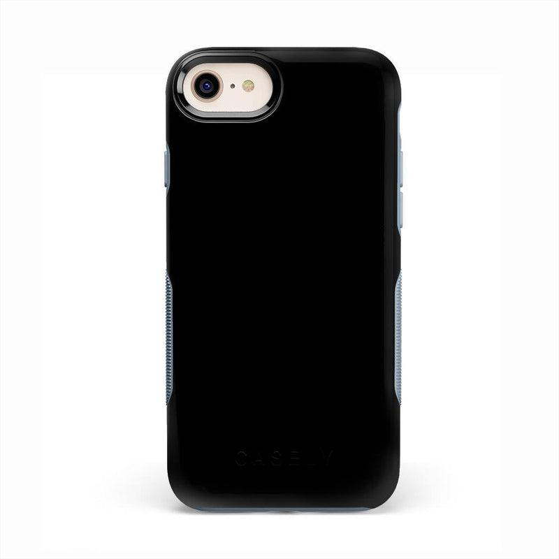 The Bold Collection - Black on Light Blue iPhone Case get.casely Bold iPhone 6/6s