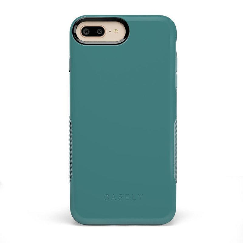 The Bold Collection - Dark Teal Blue on Aqua Mint iPhone Case get.casely Bold iPhone 6/6s Plus
