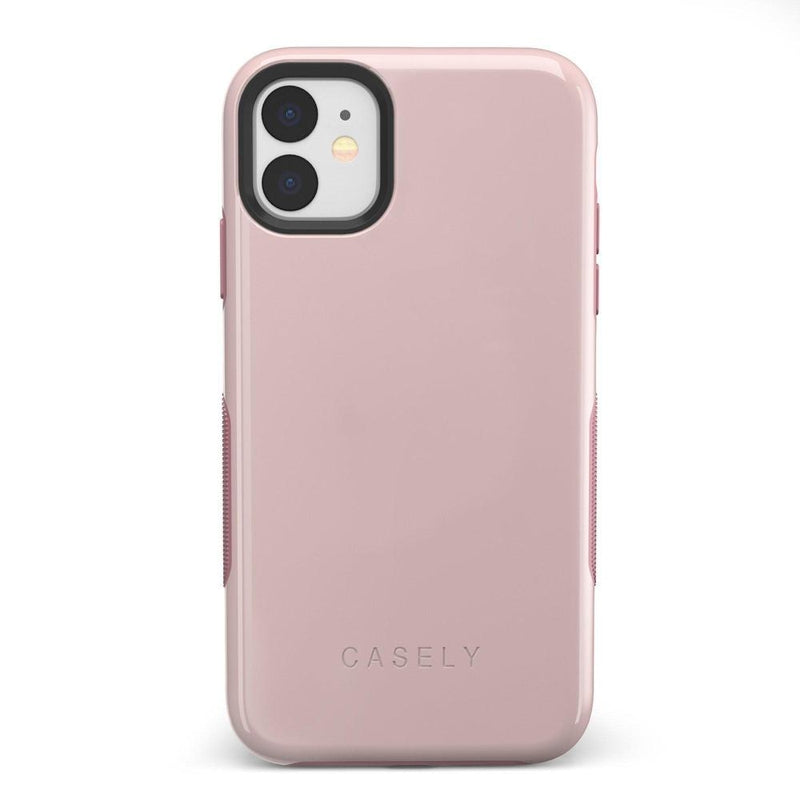 The Bold Collection - Light Pink on Pink iPhone Case get.casely Bold iPhone 11