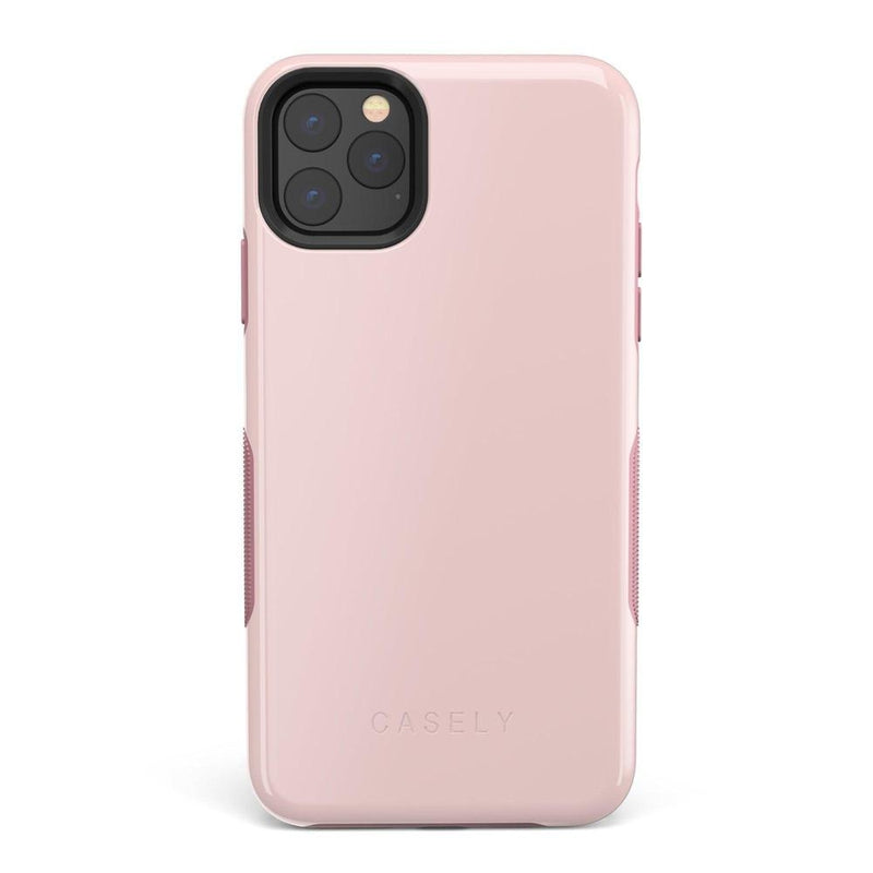 The Bold Collection - Light Pink on Pink iPhone Case get.casely Bold iPhone 11 Pro