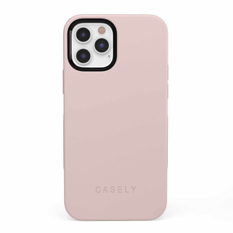 The Bold Collection - Light Pink on Pink iPhone Case get.casely Bold iPhone 12 Pro