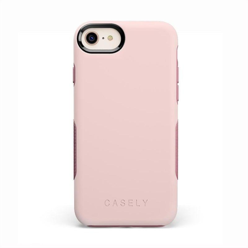 The Bold Collection - Light Pink on Pink iPhone Case get.casely Bold iPhone 6/6s