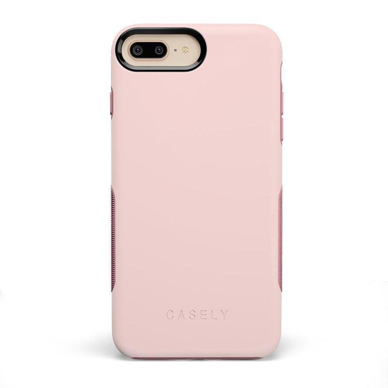 The Bold Collection - Light Pink on Pink iPhone Case get.casely Bold iPhone 6/6s Plus