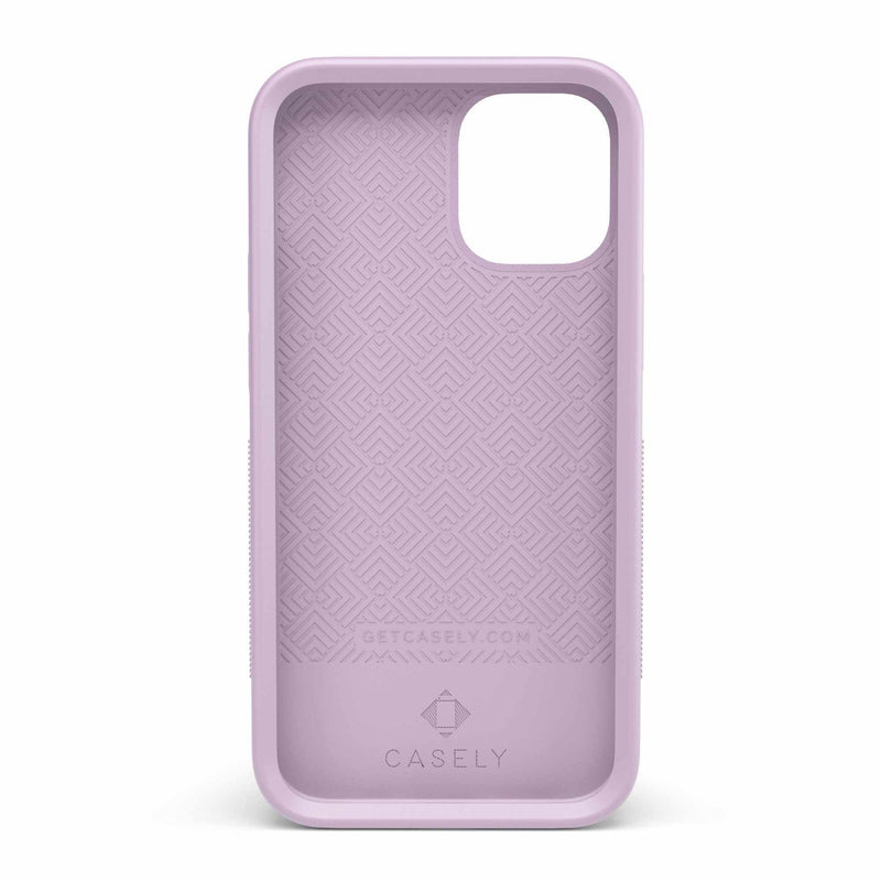 The Bold Collection - Plum Purple on Light Purple iPhone Case get.casely