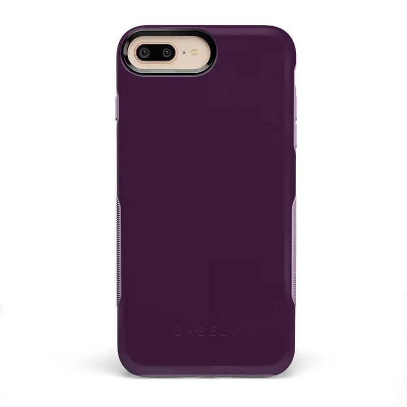 The Bold Collection - Plum Purple on Light Purple iPhone Case get.casely Bold iPhone 6/6s Plus