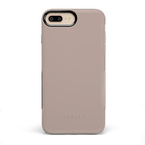 The Bold Collection - Taupe on Nude iPhone Case get.casely Bold iPhone 6/6s Plus