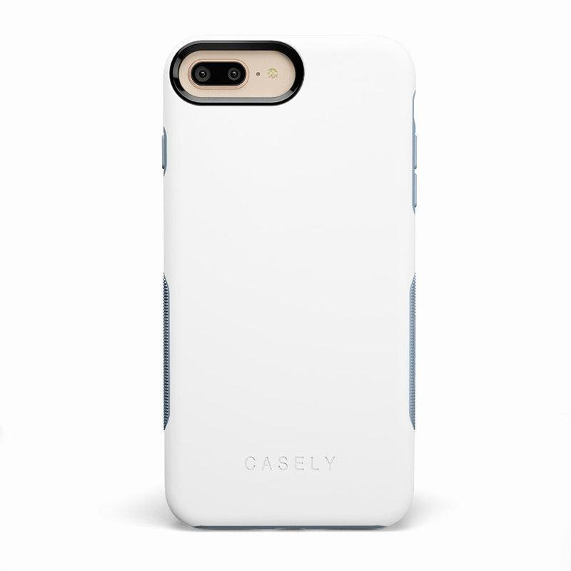 The Bold Collection - White on Light Blue iPhone Case get.casely Bold iPhone 6/6s Plus
