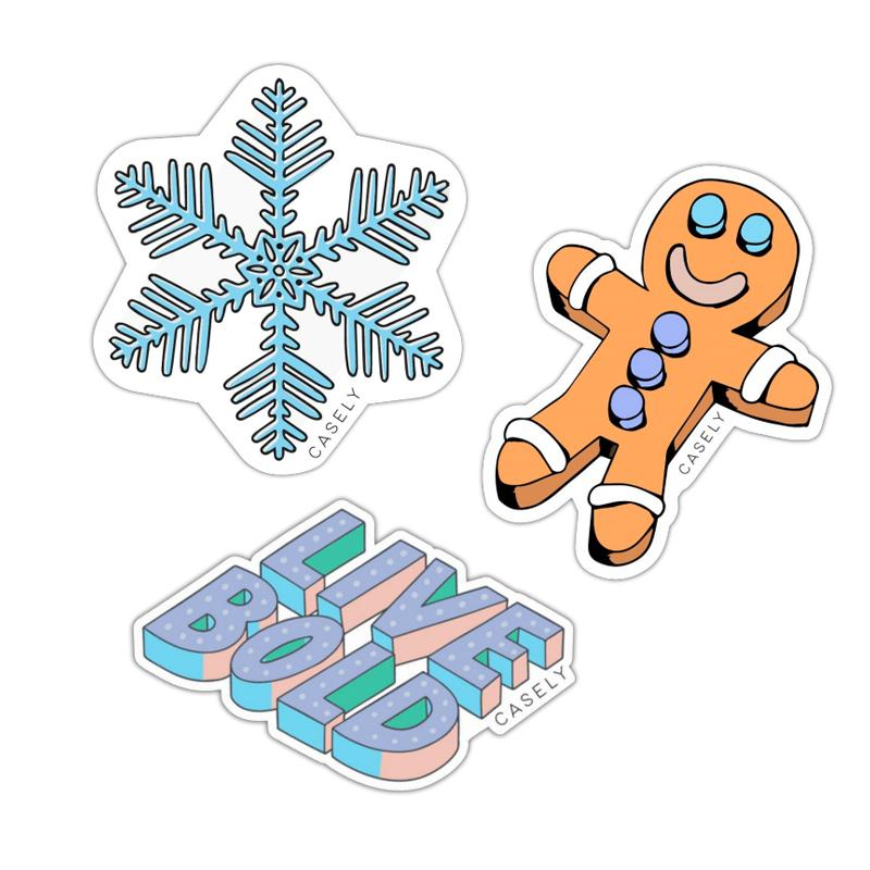 The Winter Pack Sticker Pack get.casely