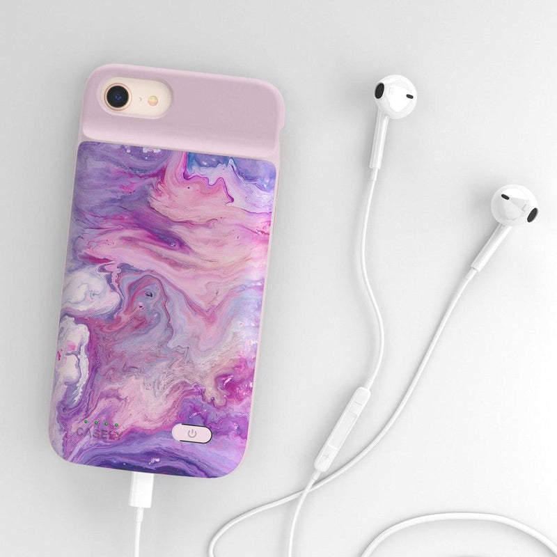 Tie Dying Over You Purple Marble iPhone Case iPhone Case get.casely