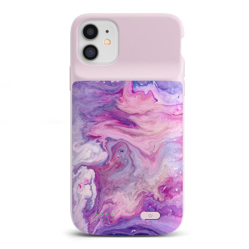 Tie Dying Over You Purple Marble iPhone Case iPhone Case get.casely Power 2.0 iPhone 11