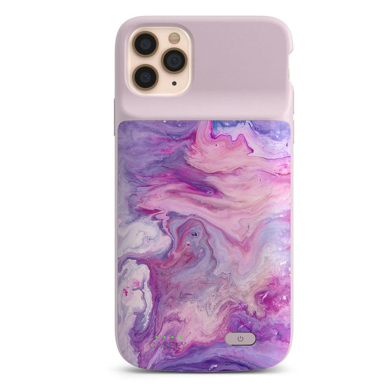 Tie Dying Over You Purple Marble iPhone Case iPhone Case get.casely Power 2.0 iPhone 11 Pro Max