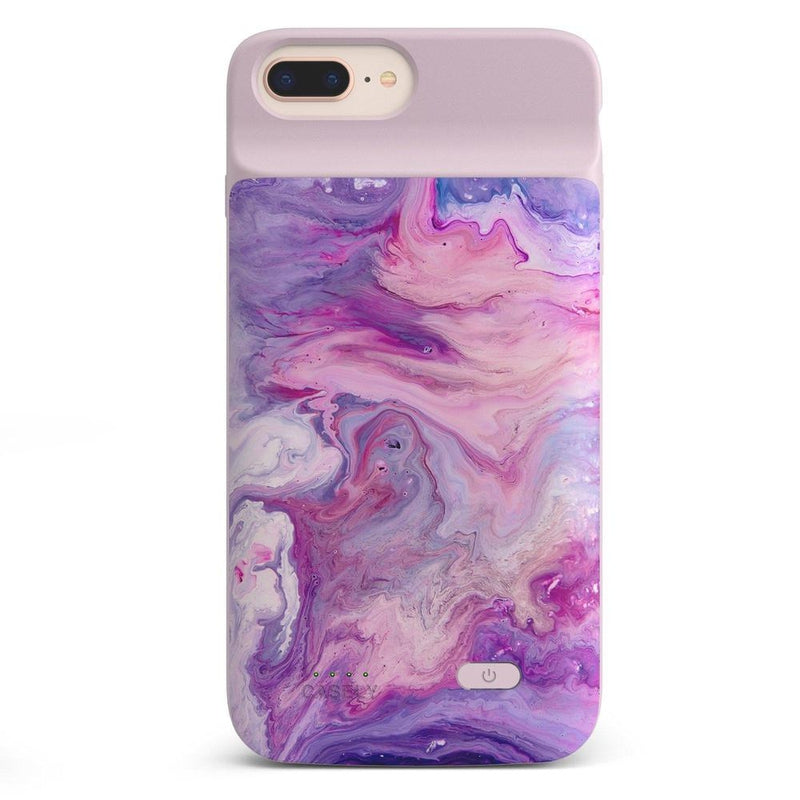 Tie Dying Over You Purple Marble iPhone Case iPhone Case get.casely Power 2.0 iPhone 8 Plus