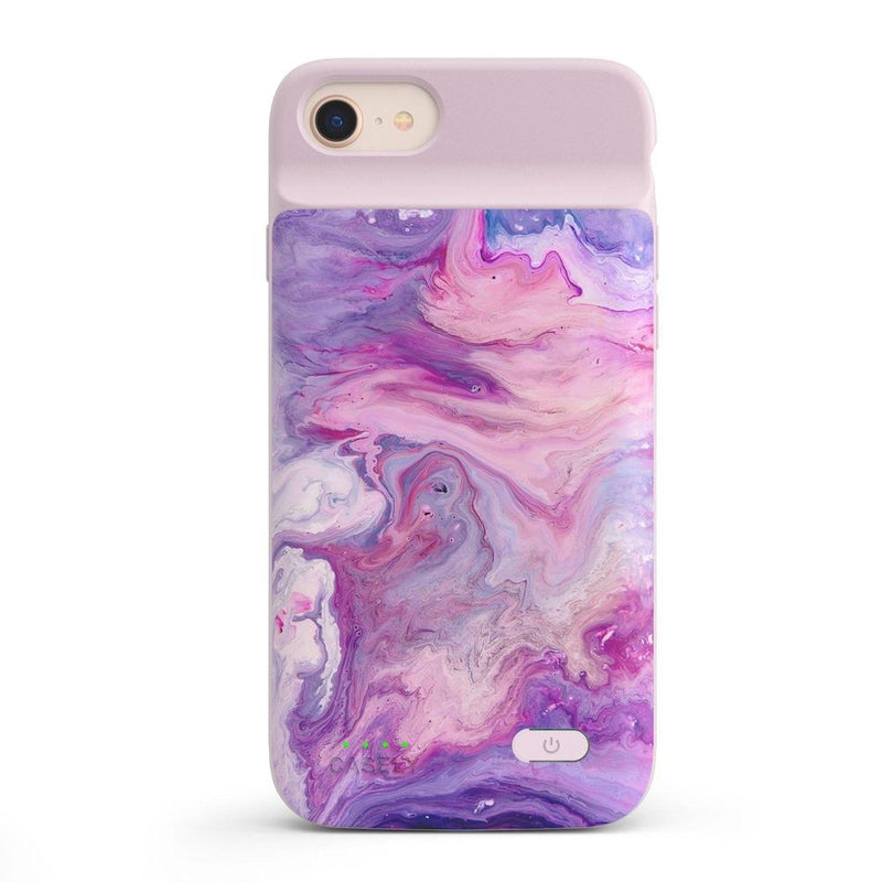 Tie Dying Over You Purple Marble iPhone Case iPhone Case get.casely Power 2.0 iPhone SE (2020)