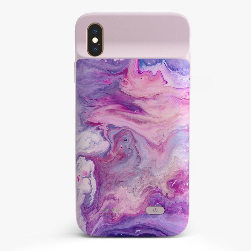 Tie Dying Over You Purple Marble iPhone Case iPhone Case get.casely Power 2.0 iPhone XS Max