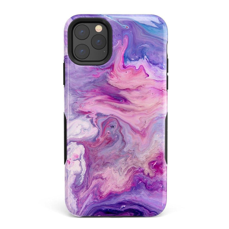 Tie Dying Over Your Purple Marble iPhone Case iPhone Case get.casely Bold iPhone 11 Pro