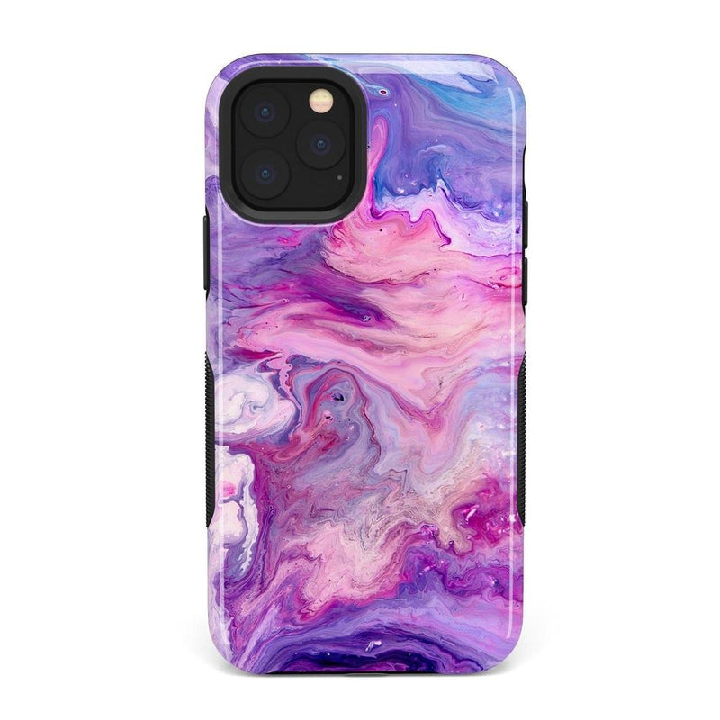 Tie Dying Over Your Purple Marble iPhone Case iPhone Case get.casely Bold iPhone 11 Pro Max