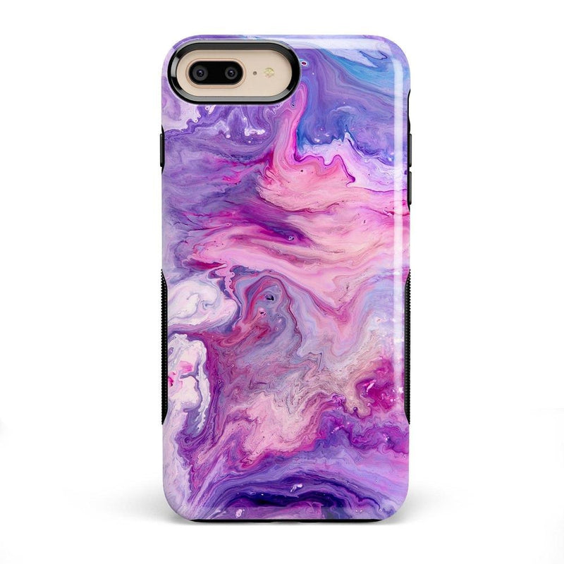 Tie Dying Over Your Purple Marble iPhone Case iPhone Case get.casely Bold iPhone 8 Plus