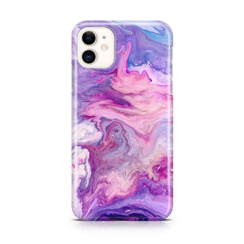Tie Dying Over Your Purple Marble iPhone Case iPhone Case get.casely Classic iPhone 11