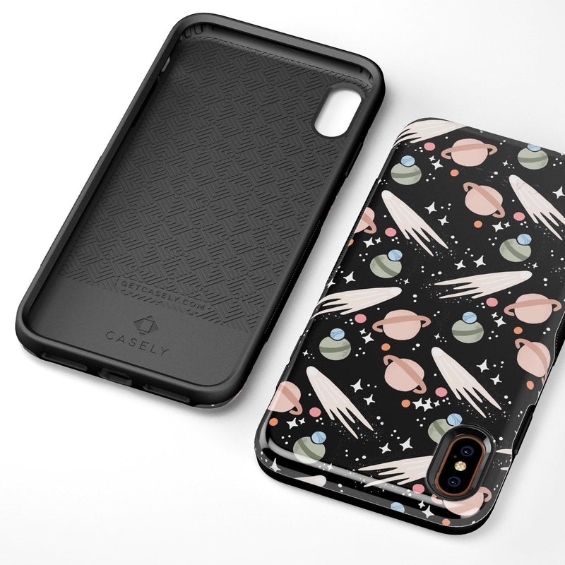 To The Moon & Back | Outer Space Case iPhone Case get.casely