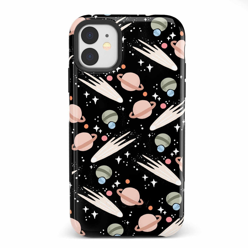 To The Moon & Back | Outer Space Case iPhone Case get.casely Bold iPhone 11