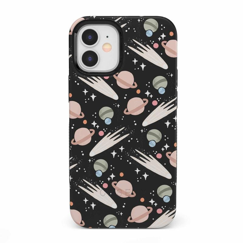 To The Moon & Back | Outer Space Case iPhone Case get.casely Bold iPhone 12 Mini