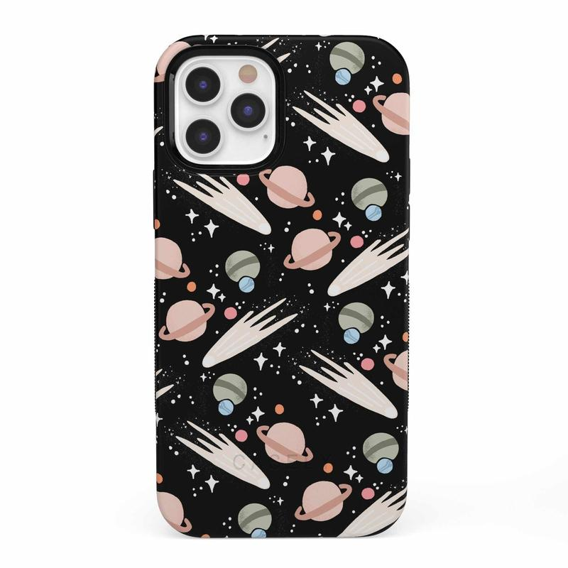 To The Moon & Back | Outer Space Case iPhone Case get.casely Bold iPhone 12 Pro