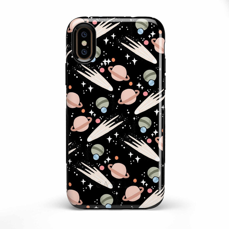 To The Moon & Back | Outer Space Case iPhone Case get.casely Bold iPhone X / XS