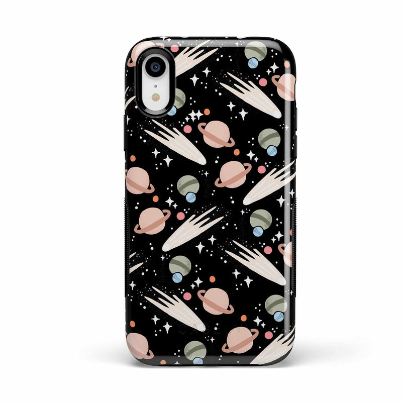 To The Moon & Back | Outer Space Case iPhone Case get.casely Bold iPhone XR