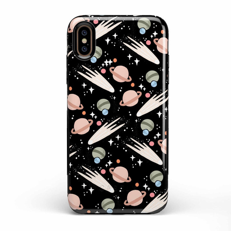 To The Moon & Back | Outer Space Case iPhone Case get.casely Bold iPhone XS Max
