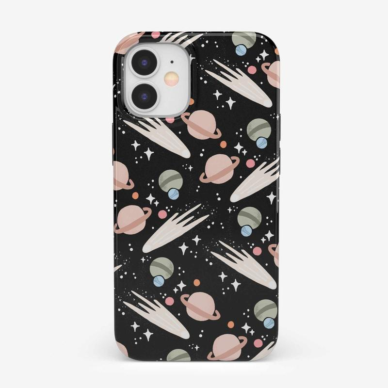 To The Moon & Back | Outer Space Case iPhone Case get.casely Classic iPhone 12 Mini