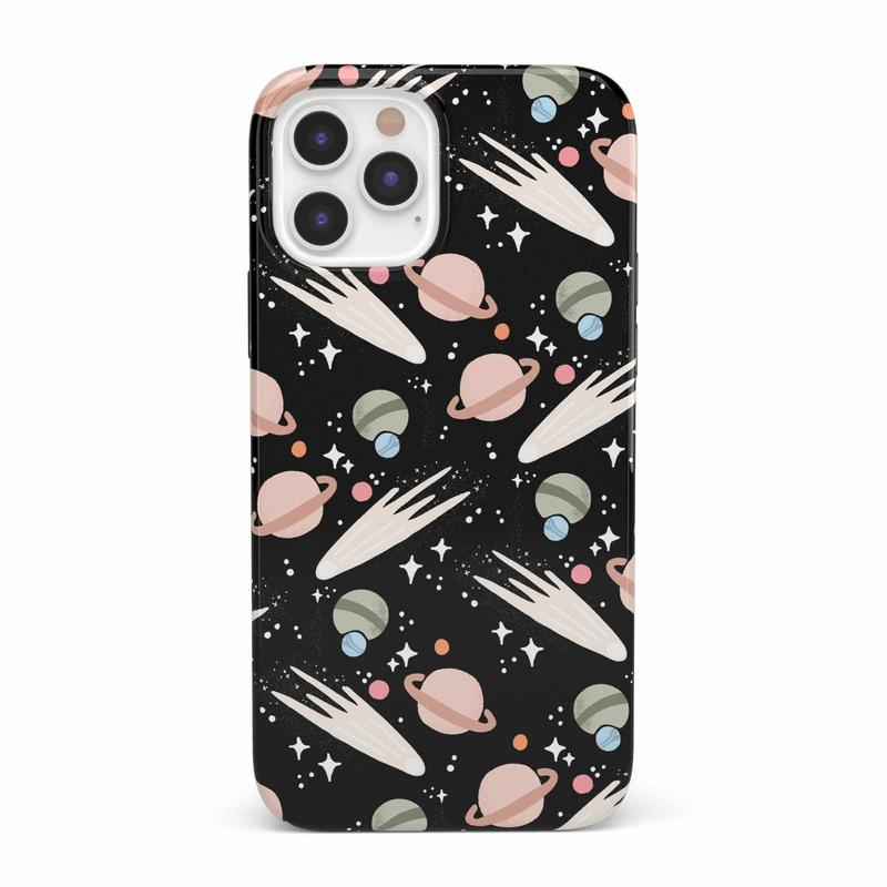 To The Moon & Back | Outer Space Case iPhone Case get.casely Classic iPhone 12 Pro