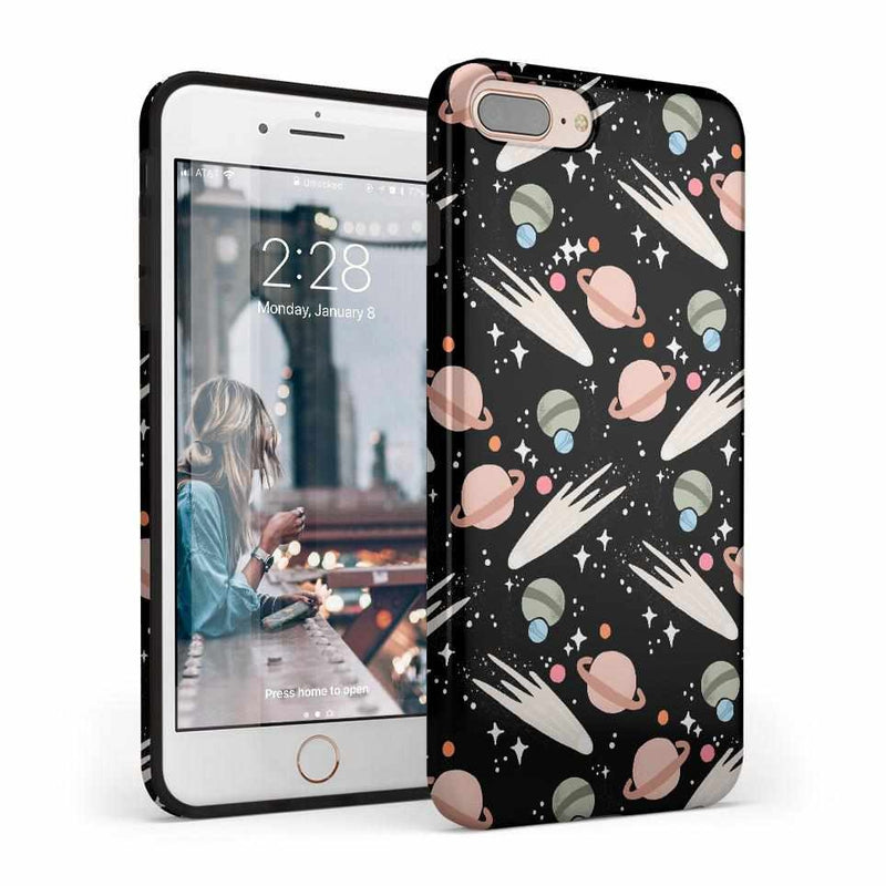 To The Moon & Back | Outer Space Case iPhone Case get.casely Classic iPhone 8 Plus