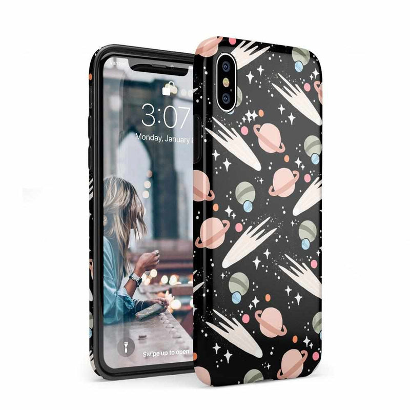 To The Moon & Back | Outer Space Case iPhone Case get.casely Classic iPhone XS Max
