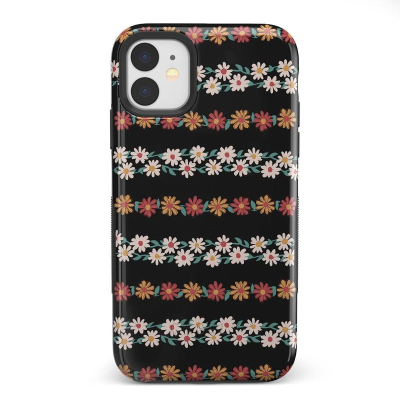 Totally Rad | Daisy Print Case iPhone Case Get.Casely Bold iPhone 11