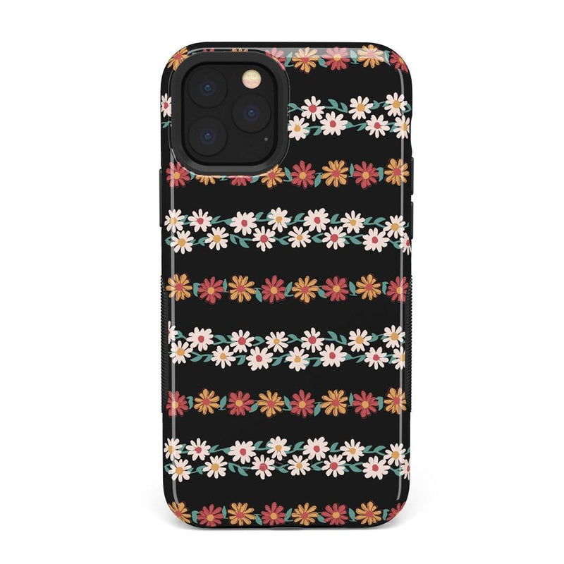 Totally Rad | Daisy Print Case iPhone Case Get.Casely Bold iPhone 11 Pro